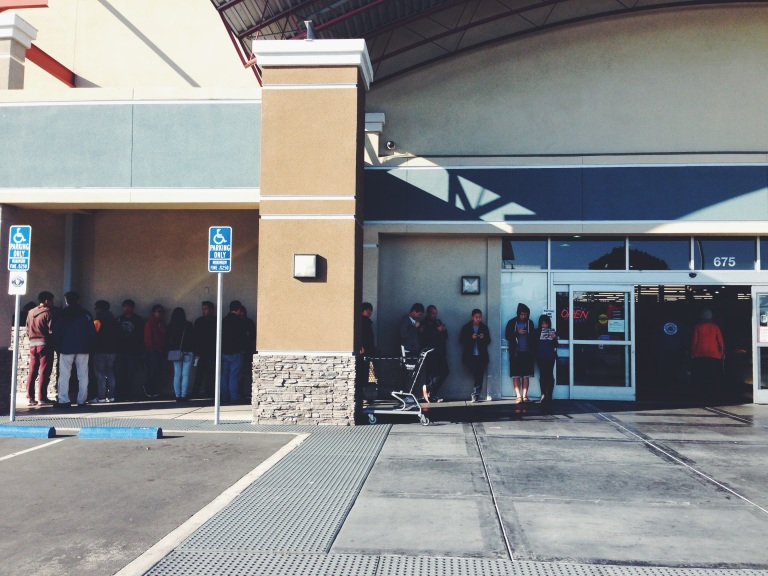 The line wasn't too bad at 10am.